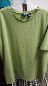 Lot of 2 green t shirts - 3X